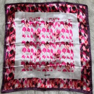 Rich printed square scarf by Rodier Paris